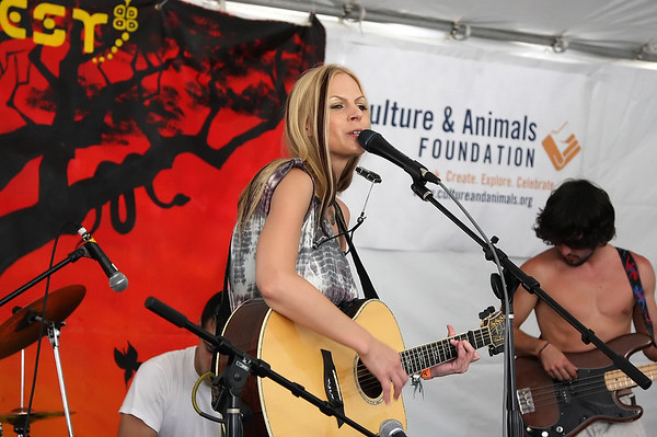 Manda Mosher performs at WorldFest