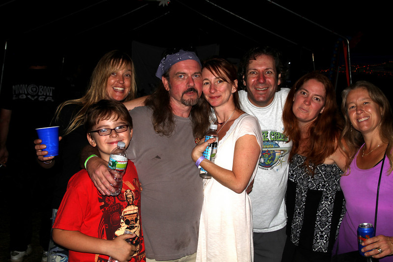 Wormtown Music Festival Dave Kane, Heather, Steve Waxy, Barry, Greenfield, MA. 9-17-10