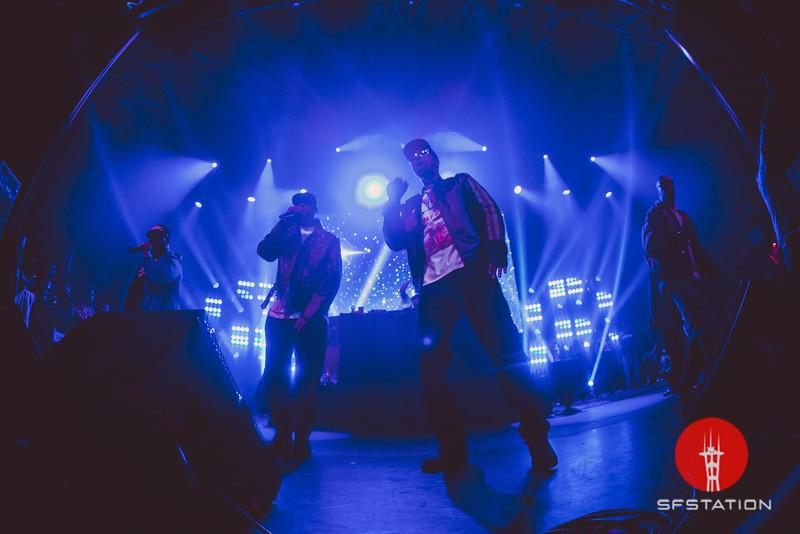 Wu-Tang Clan, Mar 18, 2017 at The Warfield