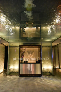 water ceiling in lobby in W Hotel Times Square photo by Rob Rich/SocietyAllure.com © 2016 robwayne1@aol.com 516-676-3939