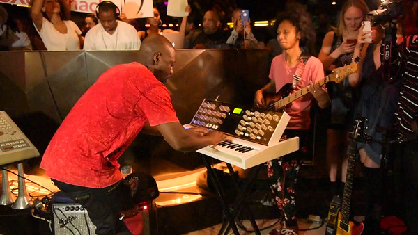 Wyclef Jean sings Prince song at W Hotel 5-12-16. -VIDEO