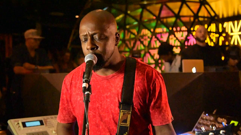 Wyclef Jean sings Prince song at W Hotel 5-12-16 -VIDEO
