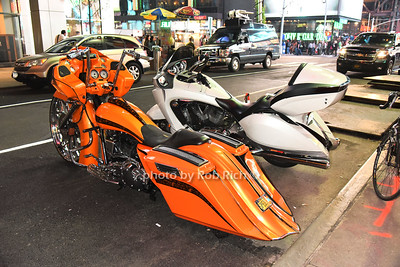 motorcycles in front of W Hotel Times Square photo by Rob Rich/SocietyAllure.com © 2016 robwayne1@aol.com 516-676-3939