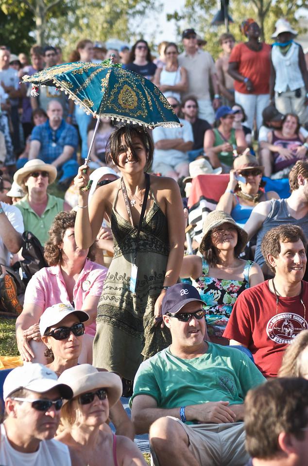 Marina Stage Audience