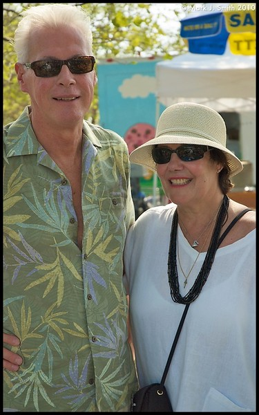 Joe and Marge Price from Main Line Montgomery County enjoying the music festival