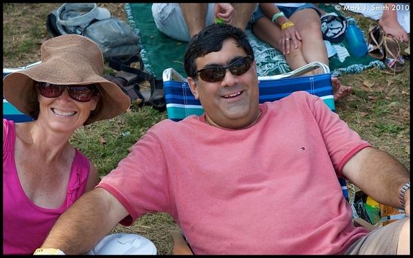 Jocelyn and Gary Martone from Jenkintown, PA