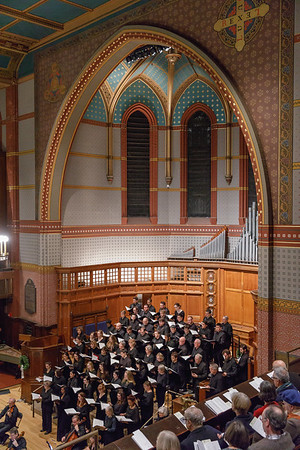 Institute of Sacred Music  Yale University  The Yale Camerata in concert, Battell Chapel