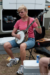 Yeehaw Junction Bluegrass Festival on January 30, 2010 in Yeehaw Junction, Florida