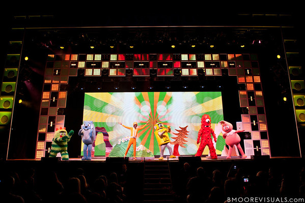 """Yo Gabba Gabba! Live! brings """"There's A Party In My City"""" to the St. Pete Times Forum on October 30, 2010 in Tampa, Florida"""