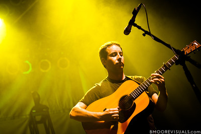 Adam Aijala of Yonder Mountain String Band performs on February 5, 2011 at Jannus Live in St. Petersburg, Florida
