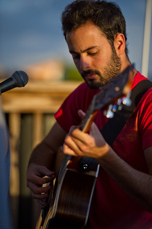 Eric Cannata of Young The Giant performs an acoustic set on December 3, 2011 during 97X Next Big Thing at 1-800-ASK-GARY Amphitheatre in Tampa, Florida