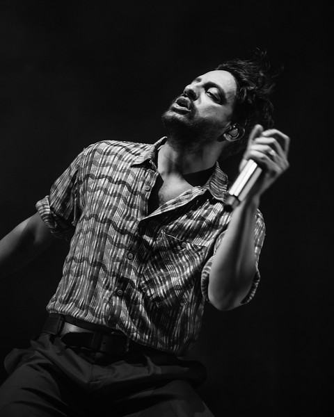 Young the Giant at Ruoff Home Mortgage Music Center on June 16, 2019. Photo by Tony Vasquez.
