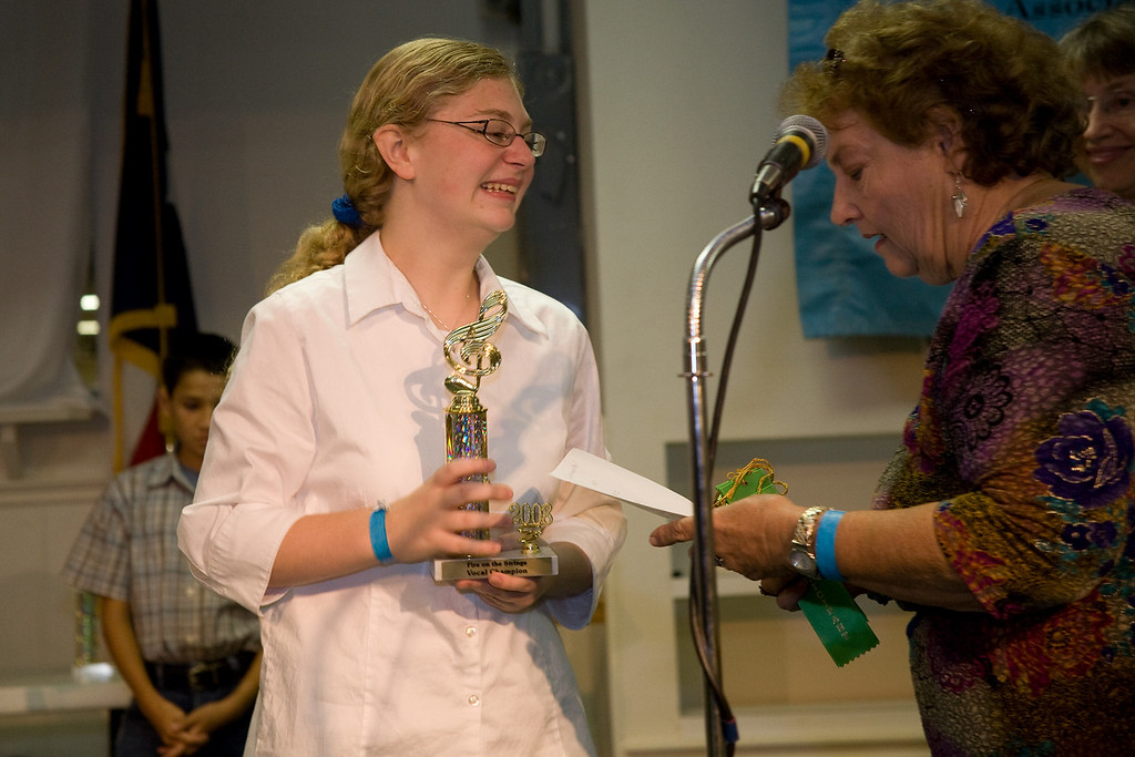 Vocal First Place<br /> Rosie Williams
