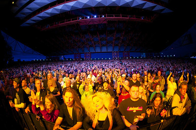 Lynyrd Skynyrd and ZZ Top Perform Friday at a packed Riverbend