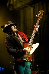 Bass Guitar legend Johnny Colt - Founding member of the Black Crowes - and new to Skynyrd in 2012