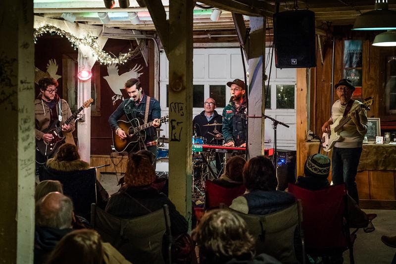 Zach Pietrini Band at Shitty Barn Sessions, 10-20-2018