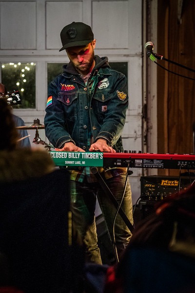 Zach Pietrini Band at Shitty Barn Sessions, 10-20-2018