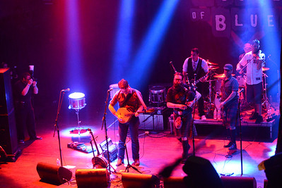 Brick Top Blaggers at House of Blues, Anaheim 10 March 2013