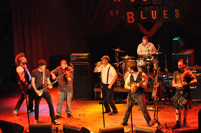 The Brick Top Blaggers at the House of Blues 18 March 2012