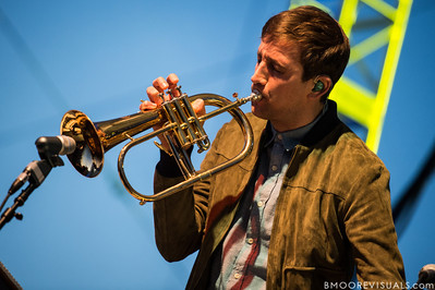 Andrew Dost of fun. performs on December 1, 2012 during 97X Next Big Thing at Vinoy Park in St. Petersburg, Florida
