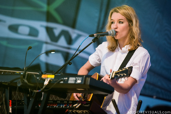 Emily Moore of fun. performs on December 1, 2012 during 97X Next Big Thing at Vinoy Park in St. Petersburg, Florida