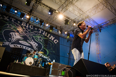 Nate Ruess of fun. performs on December 1, 2012 during 97X Next Big Thing at Vinoy Park in St. Petersburg, Florida