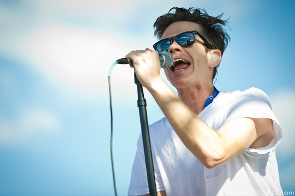 Nate Ruess of fun. performs on December 3, 2011 during 97X Next Big Thing at 1-800-ASK-GARY Amphitheatre in Tampa, Florida