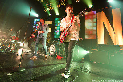 Andrew Dost, Nate Harold, Nate Ruess, and Jack Antonoff of fun. perform duing a sold-out show in support of Some Nights on March 7, 2012 at State Theatre in St. Petersburg, Florida