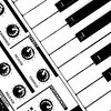 Synthesizer In Black & White