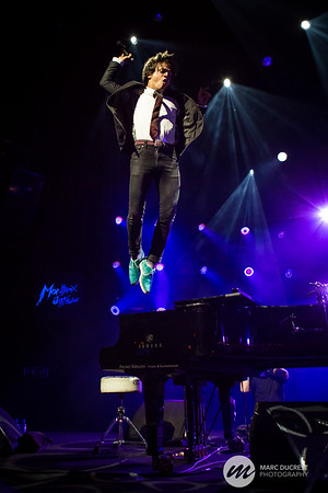 Jamie Cullum at the Montreux Jazz Festival