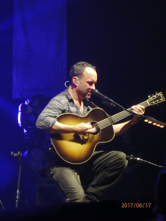 Dave Matthews, Saratoga Springs Arts Center, Summer 2017.