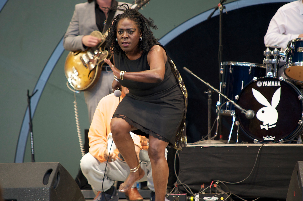 Sharon Jones and the Dap Kings, Playboy Jazz Festival