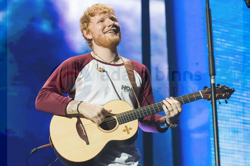 Ed Sheeran, Forsyth Barr Stadium, Dunedin. Thursday 29 March 2018. © Copyright, Adam Binns Photography/My Little Local, Dunedin, New Zealand 2018