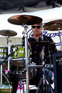 Floored Intense Drummer