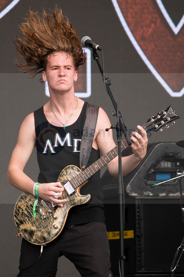 Alien Weaponry, Auckland City Limits Music Festival, Western Springs, Auckland, New Zealand. Saturday 3 March 2018. © Copyright, Adam Binns Photography, Dunedin, New Zealand 2018