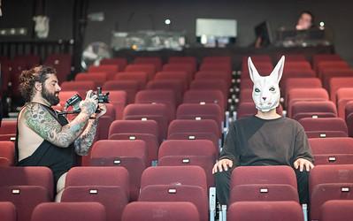 BTS shoot - Make Them Suffer - Melbourne 2020