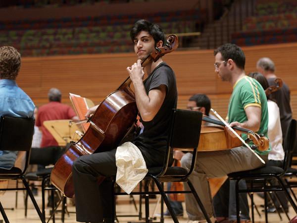 Disney Hall Rehearsal