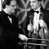 Dual Violins web bw