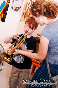 Instrument Petting Zoo  The Kids are Alright series was held at Space Gallery, in partnership with the Portland Music Foundation and the Maine Academy of Modern Music (MAMM).