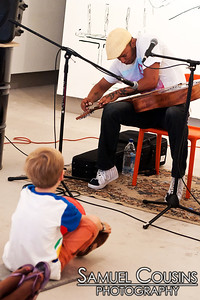 Samuel James  The Kids are Alright series was held at Space Gallery, in partnership with the Portland Music Foundation and the Maine Academy of Modern Music (MAMM).