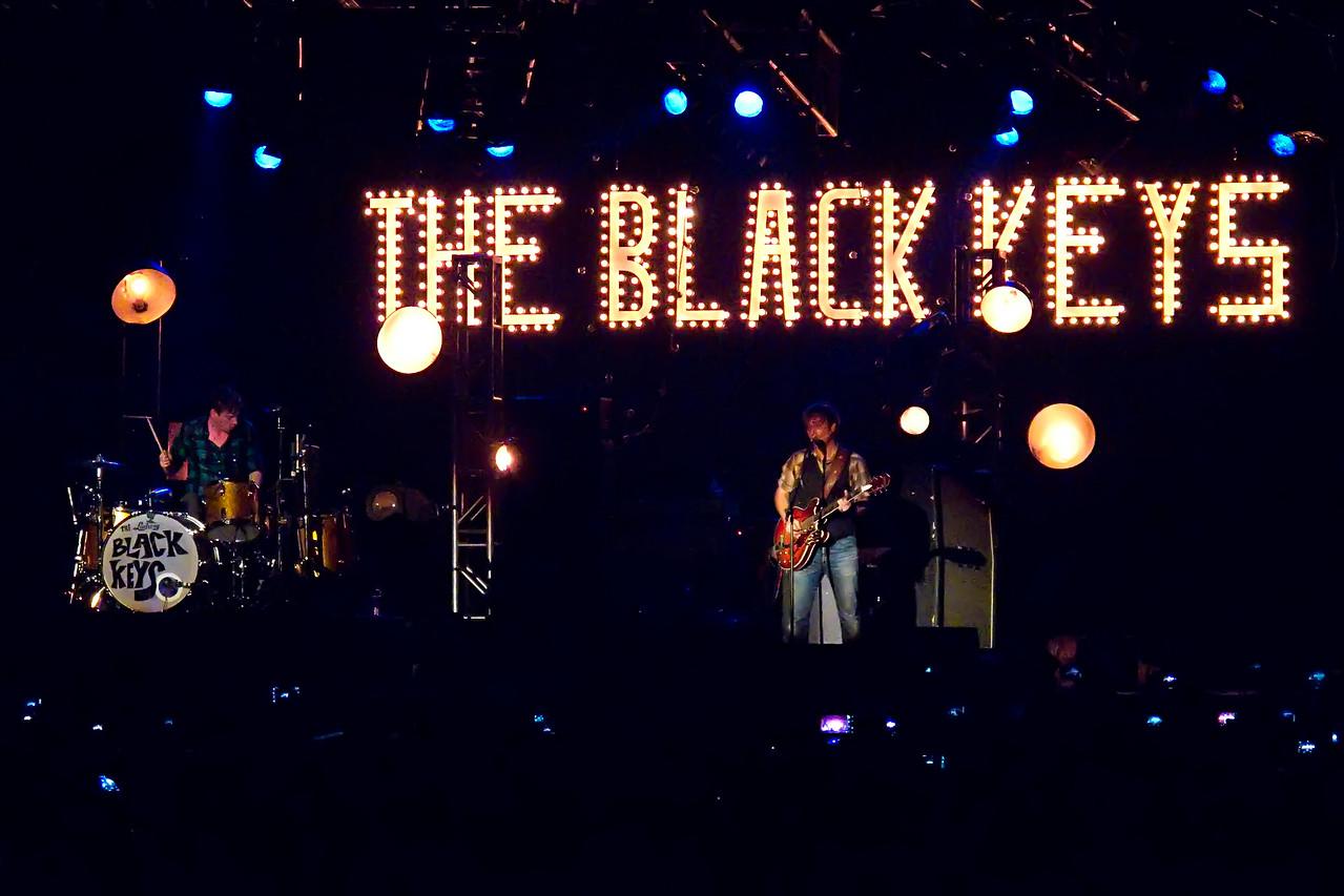 Black Keys at the Aragon Ballroom - Chicago.  January 1, 2012.