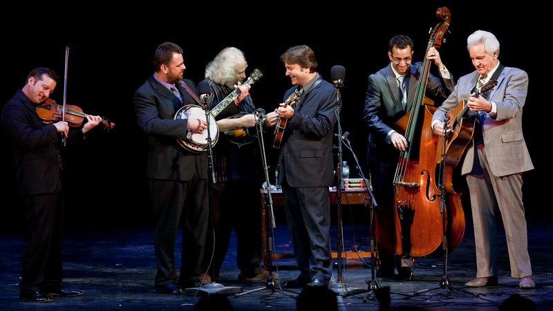 Del McCroury Family Band & David Grisman at the Chicago Bluegrass & Blues Festival - Auditorium Theater, Chicago, IL