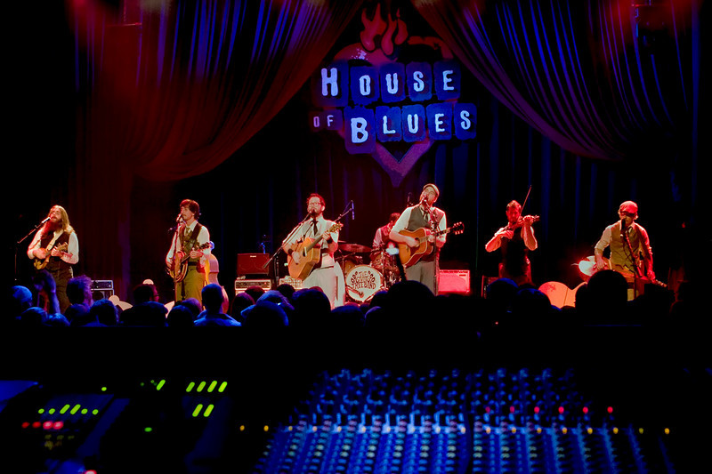 Giving Tree Band at the House of Blues - Chicago