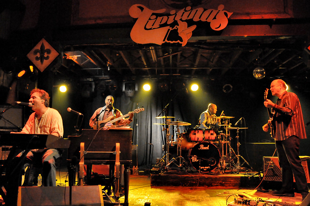 John Scofield & the Piety Street Band (With Jon Cleary, George Porter Jr, & Terence Higgins) - Tipitina's Uptown, New Orleans 1/16/10