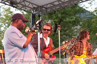 Gene Walker and Sean Carney playing the blues with Benjamin Thomas at Hotlicks Bluesfest in Granville OH 2012