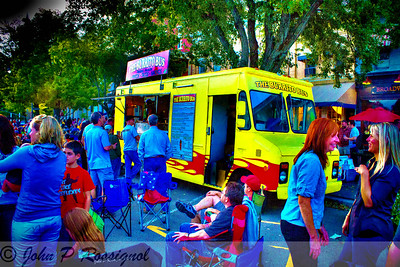 Burrito Bus was a Hot item at Hotlicks Blues Fest in Granville OH