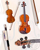 Violin Bow collage