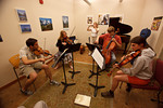 Late-night sight reading (SLSQ Summer Chamber Music Seminar 2010)