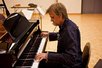 Stephen Prutsman at the piano (SLSQ Summer Chamber Music Seminar 2010)