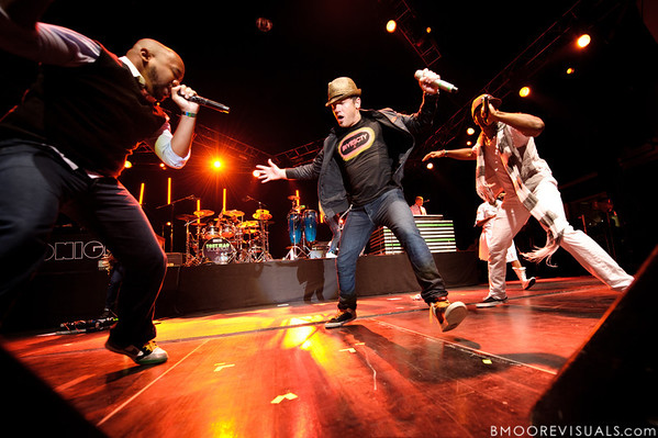 GabeReal, tobyMac, and Shonlock perform on September 11, 2010 during Rock The Universe at Universal Studios in Orlando, Florida